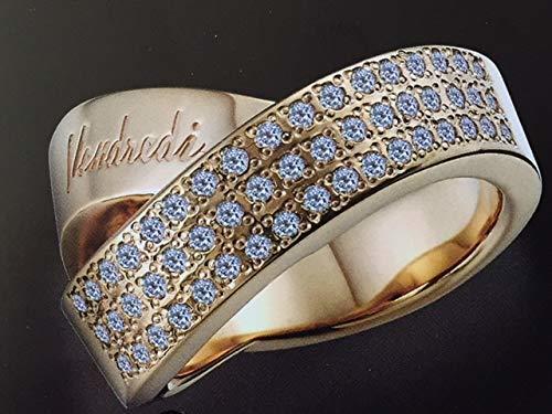 レダシルマ ヴァンドルディ GOLDダイヤモンドリング 16号       プチシルマのジュエリーコレクション 送料無料