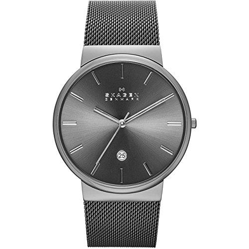 腕時計 スカーゲン メンズ SKW6108 【送料無料】Skagen Men's Ancher Quartz Stainless Steel and Mesh Watch Color: Gray, (Model: SKW6108)腕時計 スカーゲン メンズ SKW6108