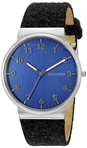 腕時計 スカーゲン メンズ SKW6232 【送料無料】Skagen Men's SKW6232 Ancher Grey Leather Watch腕時計 スカーゲン メンズ SKW6232