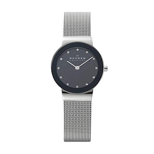 腕時計 スカーゲン レディース 358SSSBD 【送料無料】Skagen Women's Ancher Quartz Stainless Steel Mesh Casual Watch, Color: Silver-Tone (Model: 358SSSBD)腕時計 スカーゲン レディース 358SSSBD