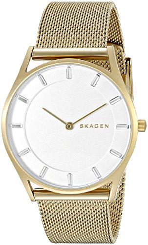 スカーゲン 腕時計 レディース SKW2377 Skagen Women's SKW2377 Holst Gold Mesh Watchスカーゲン 腕時計 レディース SKW2377
