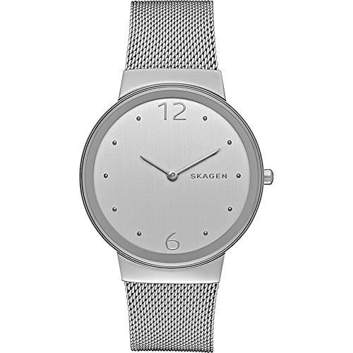 腕時計 スカーゲン レディース SKW2380 【送料無料】Skagen Women's Freja Quartz Stainless Steel Mesh Casual Watch, Color: Silver-Tone (Model: SKW2380)腕時計 スカーゲン レディース SKW2380