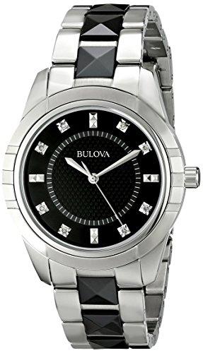 ブローバ 腕時計 レディース 98P136 【送料無料】Bulova Women's 98P136 Diamond Dial Watchブローバ 腕時計 レディース 98P136