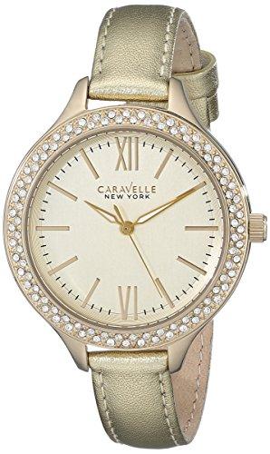 腕時計 ブローバ レディース 44L131 【送料無料】Caravelle New York Women's 44L131 Japanese-Quartz Gold Watch腕時計 ブローバ レディース 44L131