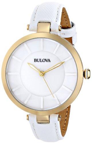 ブローバ 腕時計 レディース 97L140 Bulova Women's 97L140 Stainless Steel Watch with Leather Bandブローバ 腕時計 レディース 97L140