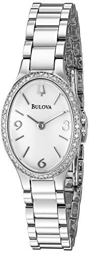 腕時計 ブローバ レディース 96R191 【送料無料】Bulova Women's 96R191 Analog Display Quartz Silver Watch腕時計 ブローバ レディース 96R191