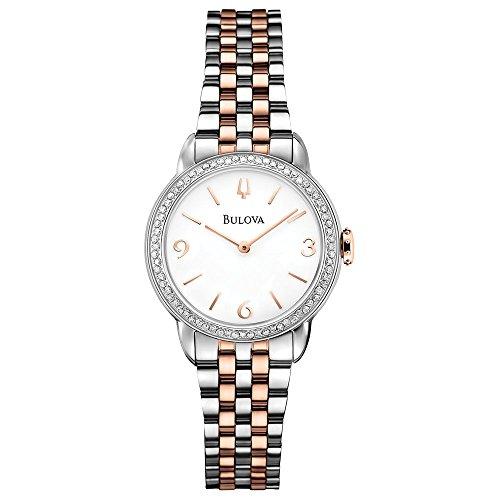 ブローバ 腕時計 レディース 98R182 Bulova Women's 98R182 Analog Display Analog Quartz Two Tone Watchブローバ 腕時計 レディース 98R182