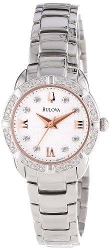 ブローバ 腕時計 レディース 96R176 Bulova Women's 96R176 Diamond Set Case Watchブローバ 腕時計 レディース 96R176