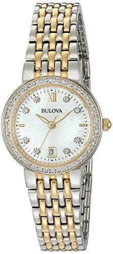 ブローバ 腕時計 レディース 98R211 【送料無料】Bulova Women's Quartz Watch with Two-Tone-Stainless-Steel Strap, 14 (Model: 98R211)ブローバ 腕時計 レディース 98R211