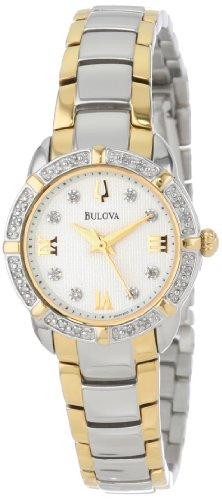 腕時計 ブローバ レディース 98R170 【送料無料】Bulova Women's 98R170 Diamond-Accented Stainless Steel Watch腕時計 ブローバ レディース 98R170