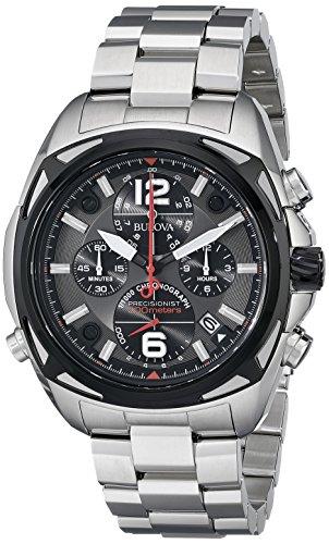 腕時計 ブローバ メンズ 98B227 【送料無料】Bulova Men's 98B227 Precisionist Analog Display Japanese Quartz Silver Watch腕時計 ブローバ メンズ 98B227