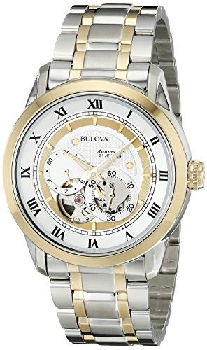 ブローバ 腕時計 メンズ 98A123 【送料無料】Bulova Men's 98A123 BVA-SERIES Two-Tone Stainless Steel Automatic Bracelet Watchブローバ 腕時計 メンズ 98A123
