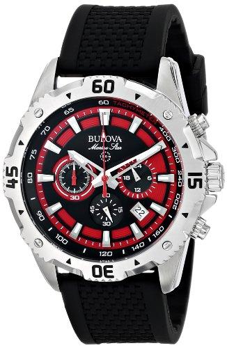 ブローバ 腕時計 メンズ 96B186 【送料無料】Bulova Men's 96B186 Marine Star Watchブローバ 腕時計 メンズ 96B186