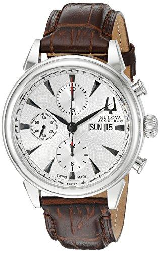 ブローバ 腕時計 メンズ 63C107 Bulova Men's 63C107 Gemini Analog Display Swiss Automatic Brown Watchブローバ 腕時計 メンズ 63C107