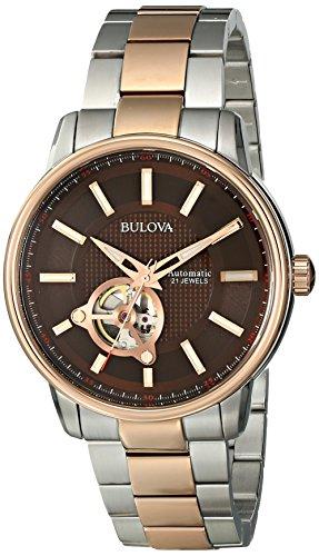 ブローバ 腕時計 メンズ 98A140 Bulova Men's 98A140 Analog Automatic Mechanical Stainless Steel Silver Watchブローバ 腕時計 メンズ 98A140