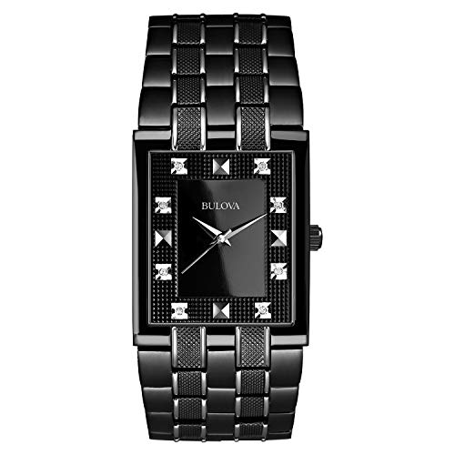 ブローバ 腕時計 メンズ 98D111 【送料無料】Bulova Men's 98D111 Bracelet Black Dial Watchブローバ 腕時計 メンズ 98D111