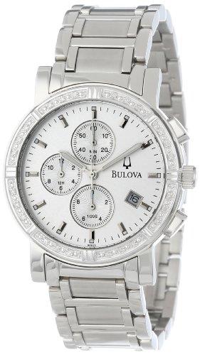 ブローバ 腕時計 メンズ 96000 【送料無料】Bulova Men's 96E03 Diamond Accented Watchブローバ 腕時計 メンズ 96000