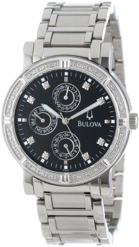 ブローバ 腕時計 メンズ 96E04 【送料無料】Bulova Men's 96E04 Diamond Multifunction Watchブローバ 腕時計 メンズ 96E04