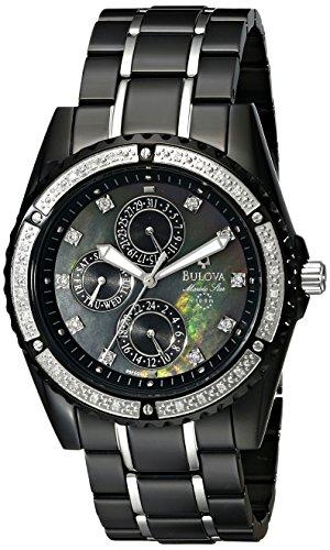 ブローバ 腕時計 メンズ 98E003 Bulova Men's 98E003 Marine Star Diamond Accented Watchブローバ 腕時計 メンズ 98E003