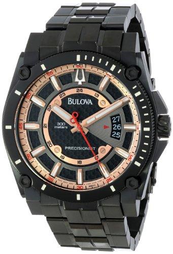 ブローバ 腕時計 メンズ 98B143 【送料無料】Bulova Men's 98B143 Precisionist Charcoal Grey Dial Bracelet Watchブローバ 腕時計 メンズ 98B143