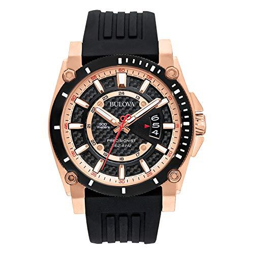 ブローバ 腕時計 メンズ 98B152 Bulova Men's 98B152 Precisionist Analog Chronograph Black Watchブローバ 腕時計 メンズ 98B152