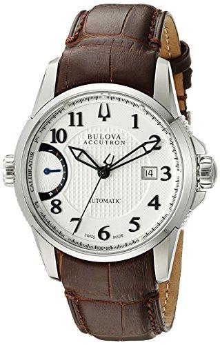 ブローバ 腕時計 メンズ 63B160 Bulova Men's 63B160 Calibrator Analog Display Swiss Automatic Brown Watchブローバ 腕時計 メンズ 63B160