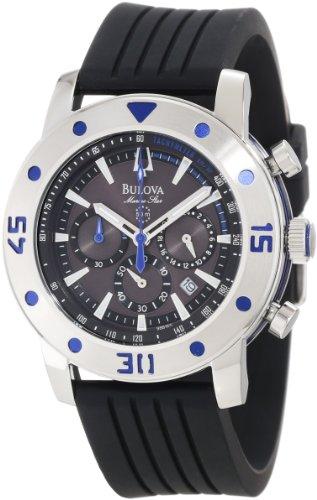 ブローバ 腕時計 メンズ 98B165 【送料無料】Bulova Men's 98B165 Marine Star Watchブローバ 腕時計 メンズ 98B165