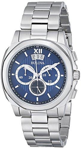 ブローバ 腕時計 メンズ 96B219 Bulova Men's 96B219 Classic Stainless Steel Watchブローバ 腕時計 メンズ 96B219