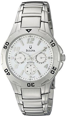 ブローバ 腕時計 メンズ 96C32 【送料無料】Bulova Men's 96C32 Analog Display Japanese Quartz Silver Watchブローバ 腕時計 メンズ 96C32