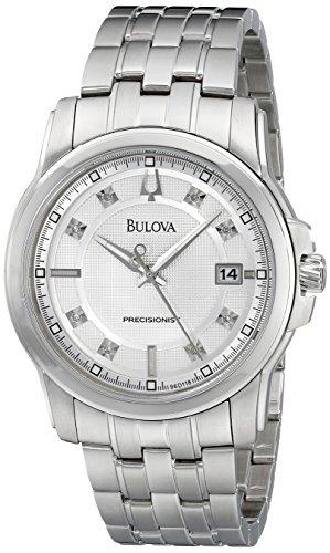 ブローバ 腕時計 メンズ 96D118 【送料無料】Bulova Men's 96D118 Precisionist Watchブローバ 腕時計 メンズ 96D118
