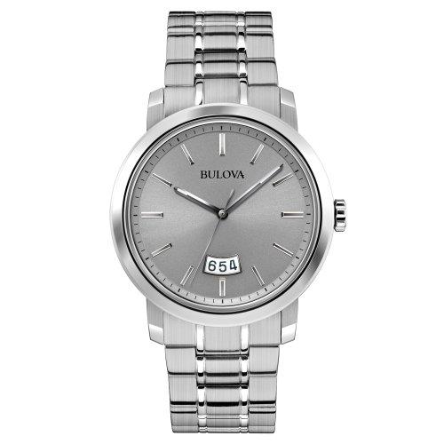 腕時計 ブローバ メンズ 96B200 【送料無料】Bulova Men's 96B200 Stainless Steel Silver-Tone Watch腕時計 ブローバ メンズ 96B200
