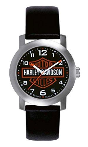 ブローバ 腕時計 メンズ 76A04 Harley Davidson Bulova Mens's Bar & Shield Logo Watch. Triedブローバ 腕時計 メンズ 76A04