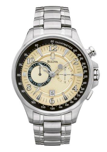 ブローバ 腕時計 メンズ 96B140 【送料無料】Bulova Men's Chronograph Date Stainless Steel Quartz Watch 96B140ブローバ 腕時計 メンズ 96B140