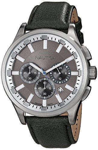 ノーティカ 腕時計 メンズ N16693G Nautica Men's N16693G NCT 17 Analog Display Quartz Grey Watchノーティカ 腕時計 メンズ N16693G