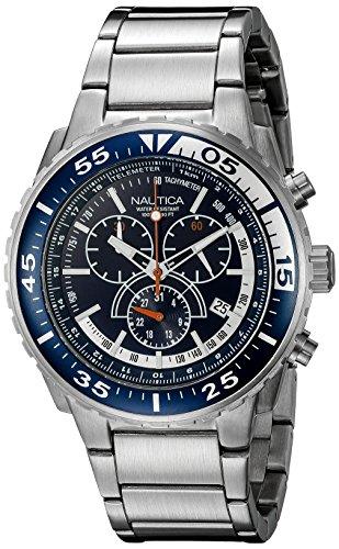 ノーティカ 腕時計 メンズ N16655G Nautica Men's N16655G NST 700 Chrono Fashion Active Watchノーティカ 腕時計 メンズ N16655G