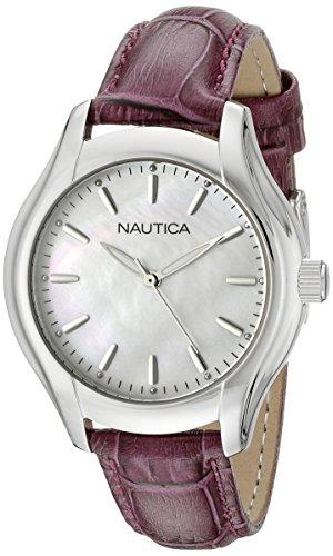 ノーティカ 腕時計 レディース NAD11004M 【送料無料】Nautica Women's NAD11004M NCT 18 MID Analog Display Quartz White Watchノーティカ 腕時計 レディース NAD11004M