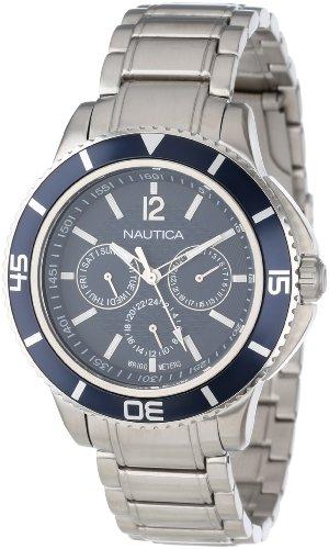 腕時計 ノーティカ メンズ N19592G 【送料無料】Nautica Unisex N19592G NCS 450 Tobago Classic Analog with Enamel Bezel Watch腕時計 ノーティカ メンズ N19592G