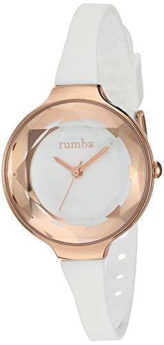 ルンバタイム 腕時計 レディース 15642 RumbaTime Women's 15642 Orchard Gem Mini Rose Gold 30mm Crystal White Watchルンバタイム 腕時計 レディース 15642