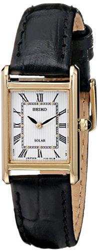 セイコー 腕時計 レディース SUP250 【送料無料】Seiko Women's SUP250 Stainless Steel Watch with Black Bandセイコー 腕時計 レディース SUP250