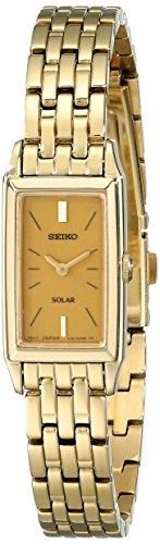 セイコー 腕時計 レディース SUP030 【送料無料】Seiko Women's SUP030 Solar Gold-Tone Bracelet Dress Watchセイコー 腕時計 レディース SUP030