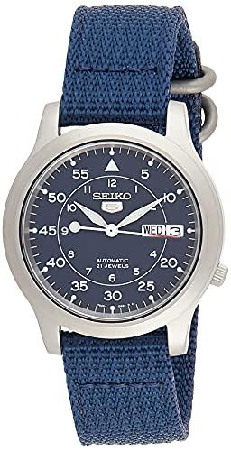 セイコー 腕時計 メンズ SNK807 Seiko Men's SNK807 Seiko 5 Automatic Stainless Steel Watch with Blue Canvas Bandセイコー 腕時計 メンズ SNK807