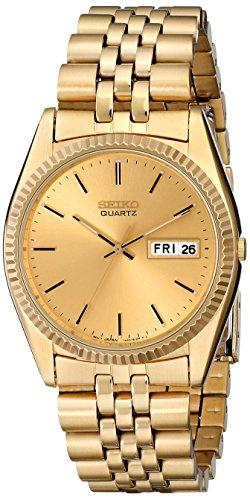 セイコー 腕時計 メンズ SGF206 【送料無料】Seiko Men's SGF206 Gold-Tone Stainless Steel Dress Watchセイコー 腕時計 メンズ SGF206