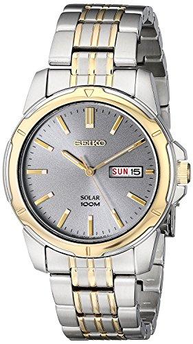セイコー 腕時計 メンズ SNE098 Seiko Men's SNE098 Two-Tone Stainless Steel Watchセイコー 腕時計 メンズ SNE098