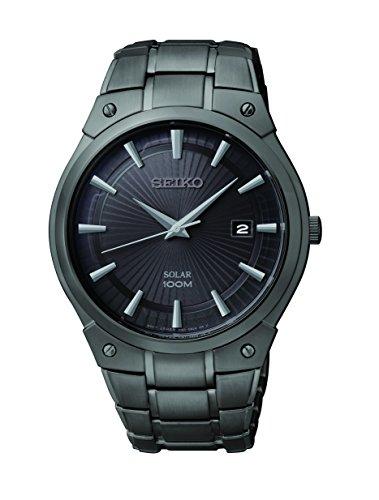 セイコー 腕時計 メンズ SNE325 【送料無料】Seiko Men's SNE325 Dress Solar Black Stainless Steel Watchセイコー 腕時計 メンズ SNE325
