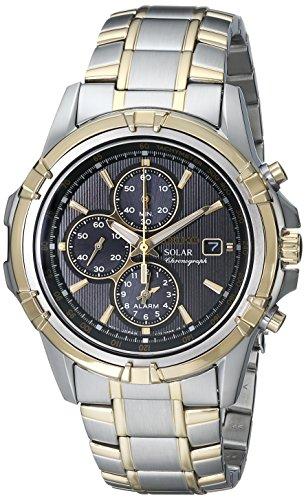 セイコー 腕時計 腕時計 メンズ メンズ Steel SSC142 Seiko Men's SSC142 Stainless Steel Solar Dress Watchセイコー 腕時計 メンズ SSC142, アツミグン:447b7147 --- b-band.club