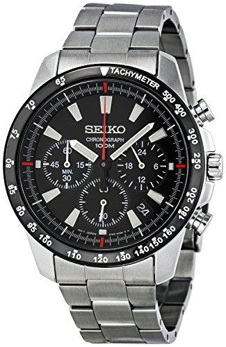 セイコー 腕時計 メンズ SSB031 【送料無料】Seiko SSB031 Men's Chronograph Stainless Steel Case Watchセイコー 腕時計 メンズ SSB031