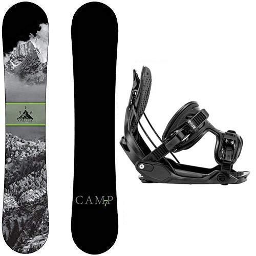 スノーボード ウィンタースポーツ キャンプセブン 2017年モデル2018年モデル多数 Camp Seven Valdez 2019 Snowboard Snowboard with Flow Snowboard Bindings Snowboard Package (156 cm,スノーボード ウィンタースポーツ キャンプセブン 2017年モデル2018年モデル多数