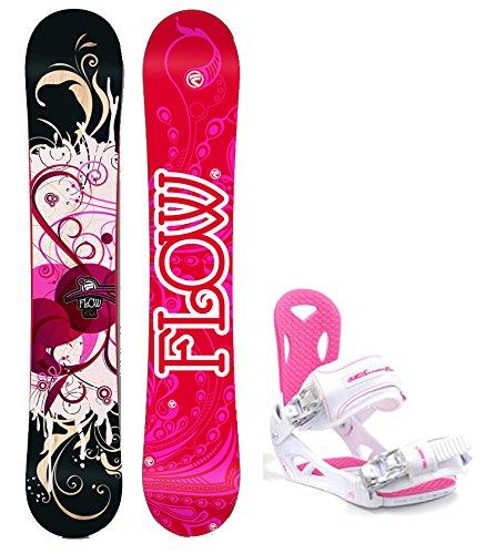 スノーボード ウィンタースポーツ フロウ 2017年モデル2018年モデル多数 Flow 2018 Tula Women's Snowboard Package with M3 Bindings 4 YR WARRANTY - Board Size 144スノーボード ウィンタースポーツ フロウ 2017年モデル2018年モデル多数