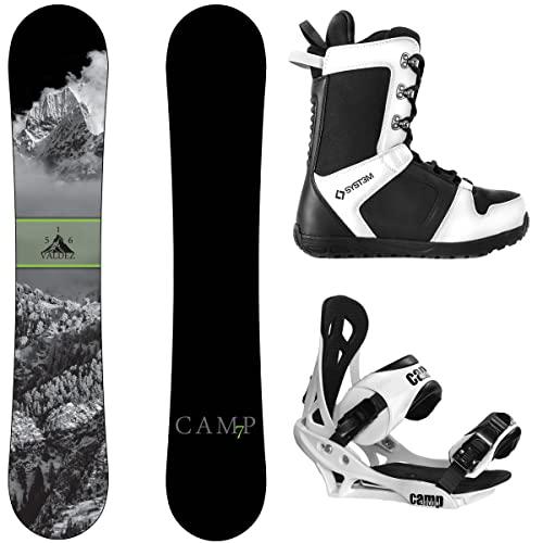 スノーボード ウィンタースポーツ キャンプセブン 2017年モデル2018年モデル多数 【送料無料】Camp Seven Package Valdez CRC Snowboard-163 cm Wide Summit Bindings-System APX Sスノーボード ウィンタースポーツ キャンプセブン 2017年モデル2018年モデル多数