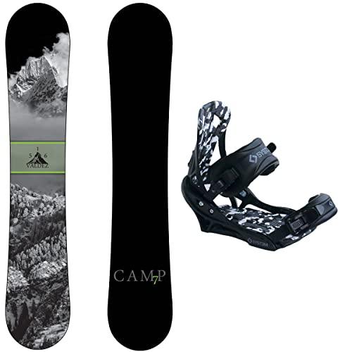 スノーボード ウィンタースポーツ キャンプセブン 2017年モデル2018年モデル多数 Camp Seven Package Valdez CRC 2018 Snowboard-156 cm-System APX Bindingsスノーボード ウィンタースポーツ キャンプセブン 2017年モデル2018年モデル多数